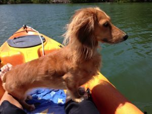 Kayaking with Mom