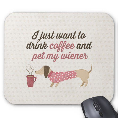dachshund gifts and office items