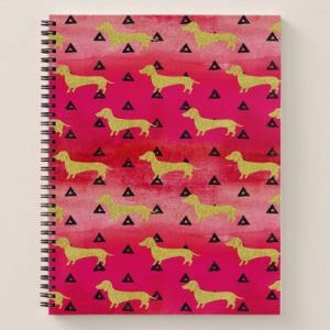 dachshund notebooks
