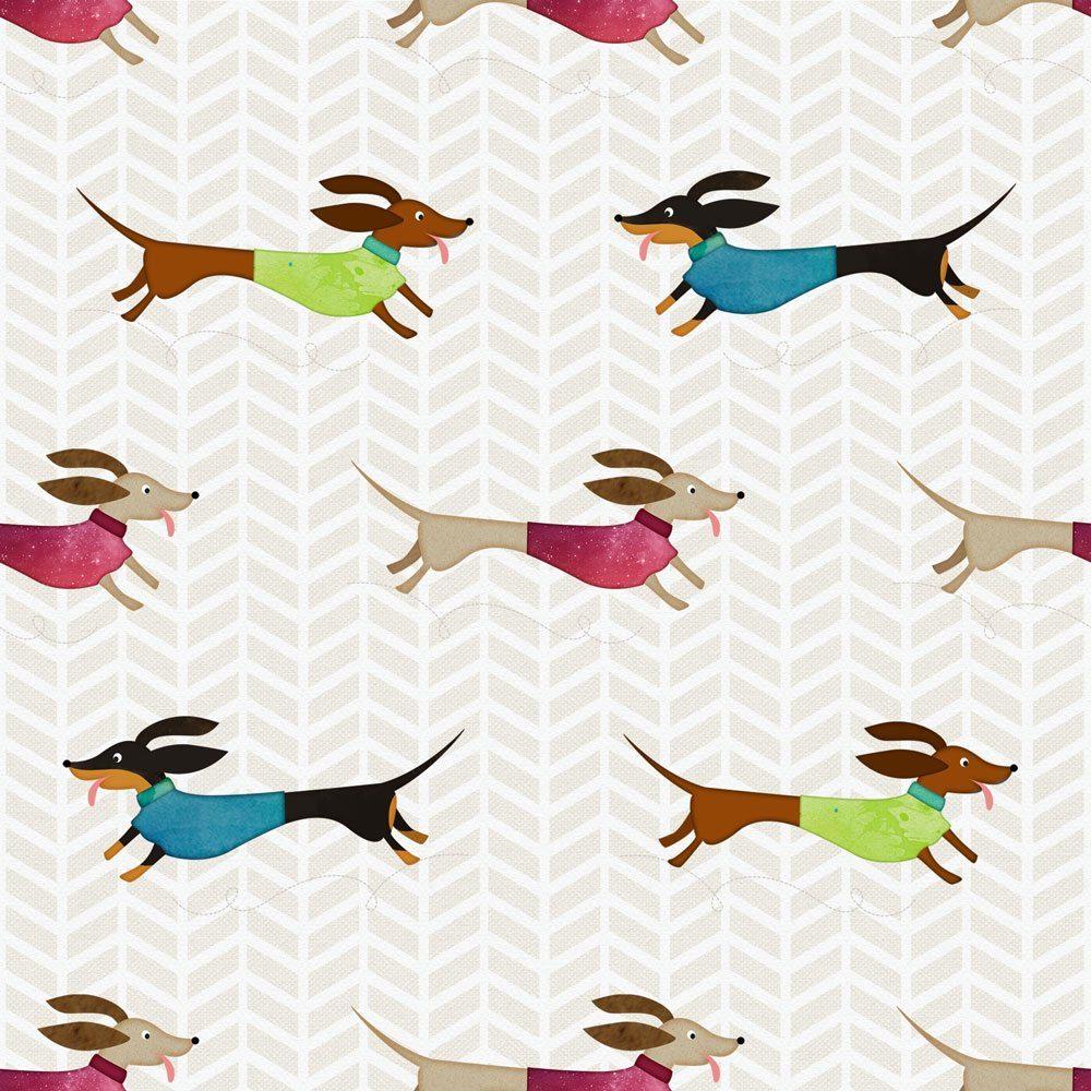 delightful dachshund pattern